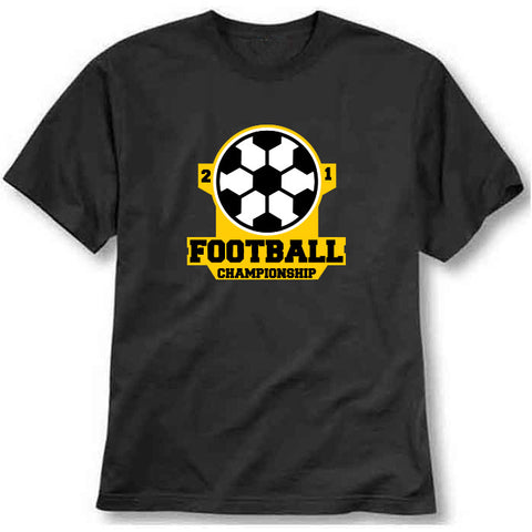 custom tshirt - Football Championship Printed T-Shirt - Bargain Original - BargainPk