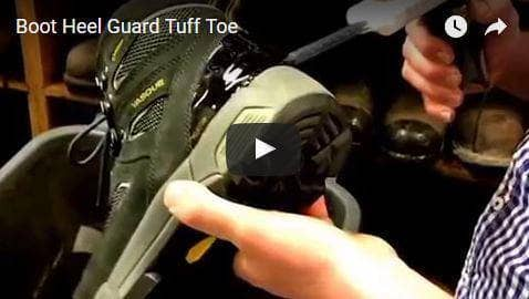 How to Make a Boot Heel Cap with Tuff Toe