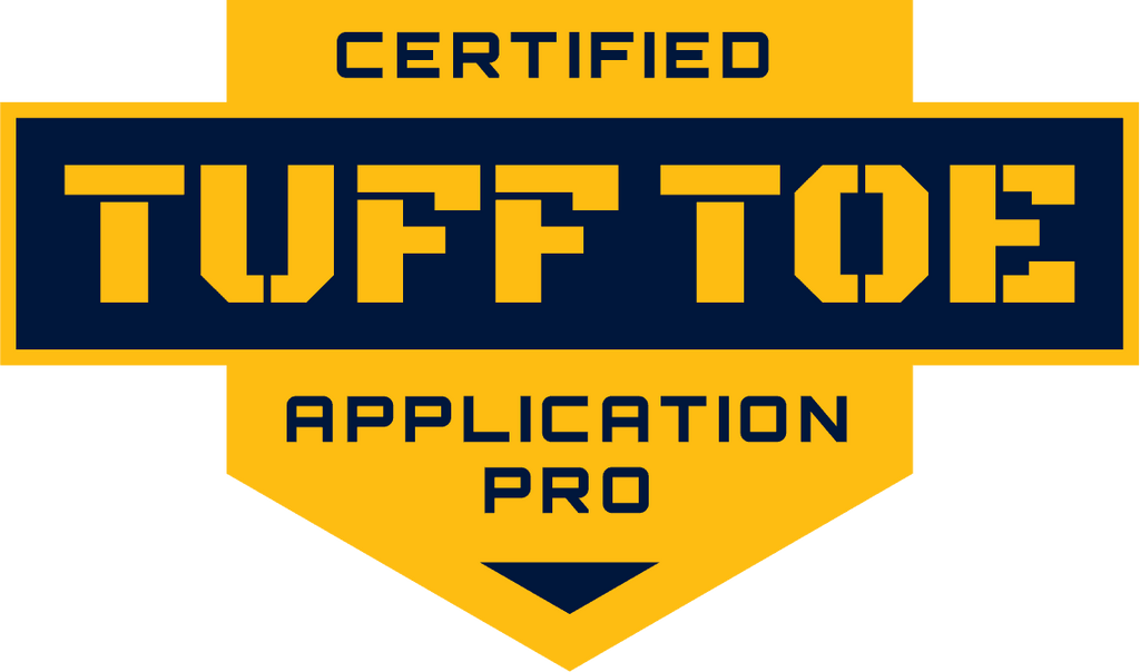 Tuff Toe Applied For You by a Tuff Toe Certified Application Pro (TCAP)