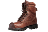 Brown Tuff Toe steel toe work boot protection