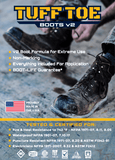 TUFF TOE BOOTS v2: Work Boot Toe Guards & Boot Saver Protection