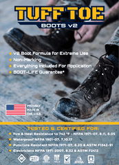 TUFF TOE BOOTS v2: Work Boot Toe Guard & Boot Saver Protection