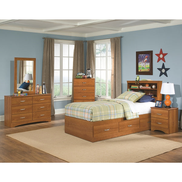 Captains 5 Piece Twin Bedroom
