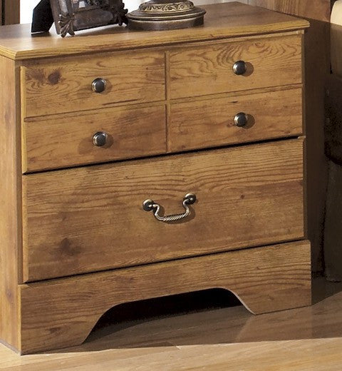 Bittersweet Light Brown Night Stand