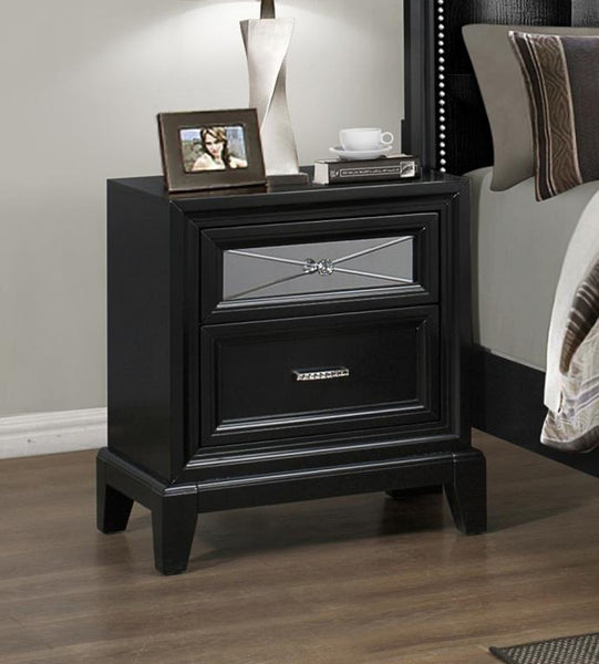 Crown Mark Elise Nightstand