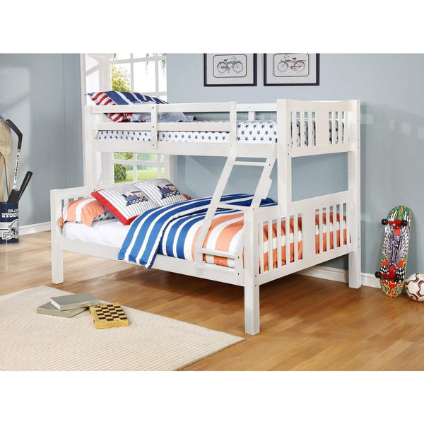 ASHMORE TWIN/FULL BUNKBED - Smith and myers furniture - 2