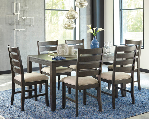 Ashley Rokane Dining Room Table And Chairs