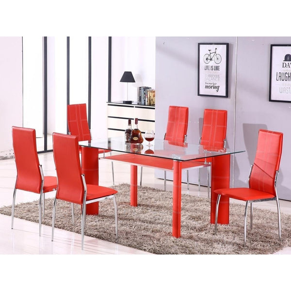 Star Dining Room Table Chairs (set of 6)-Furniture-Smith&Myers Furniture
