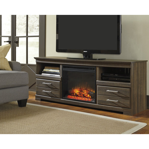 Ashley Frantin TV Stand W/Fireplace