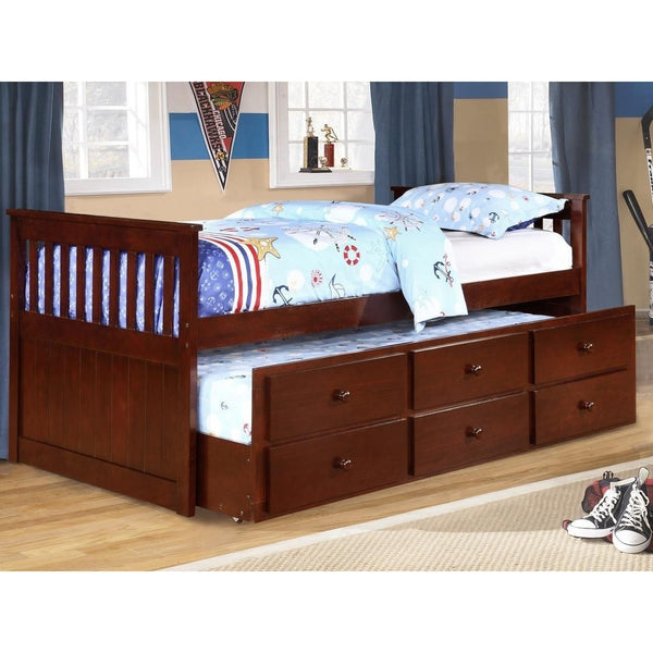 Adriana  Twin Size Bed With Trundle And Storage-Furniture-Smith&Myers Furniture-affordable kidsbedroom