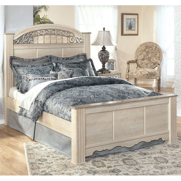 Ashley Catalina Poster Bed