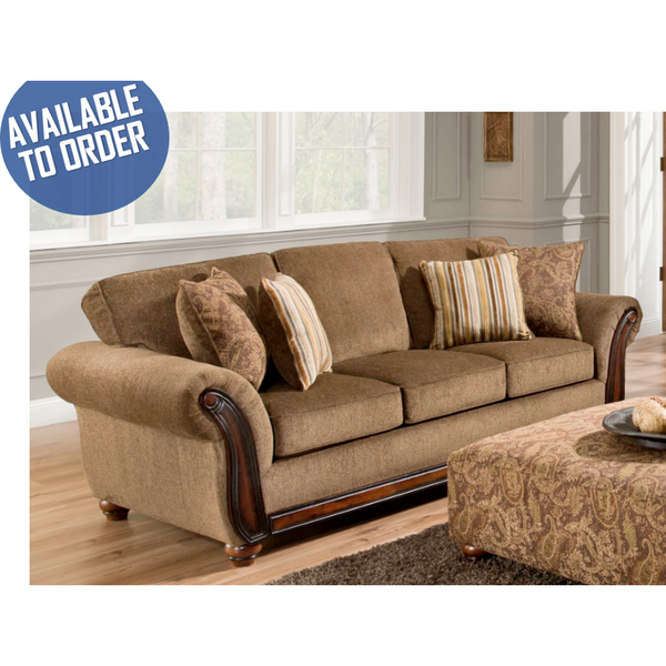 Cornell Chestnut Sofa-Furniture-Smith&Myers Furniture