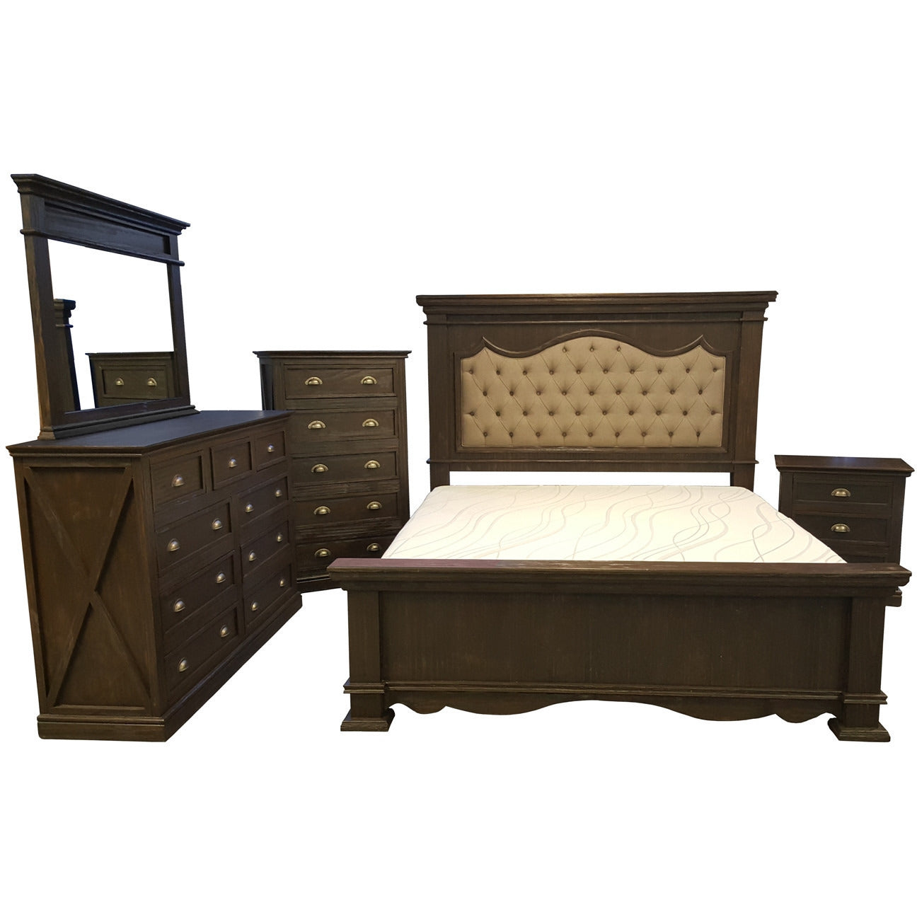 Buy Fifth Avenue Rustic Bedroom Collection at SmithampMyers