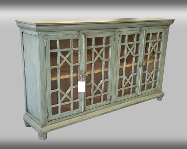 Antique Console with Storage