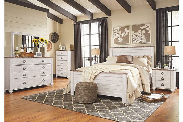 Ashley Willowton 5 Piece Bedroom Set