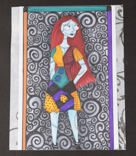 The Nightmare Before Christmas Sally Original Art By Hannah Left Wright