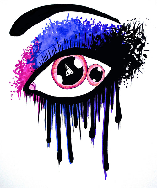This Eye Poster by Hannah Left Wright