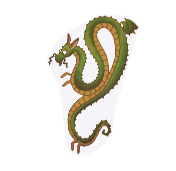 Nub Dragon Temporary Tattoo