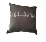 Pot Dawg Throw Pillow