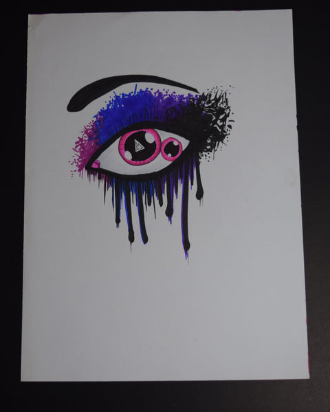 This Eye Drawing By Hannah Left Wright