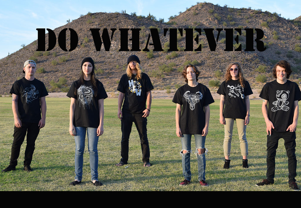 Do whatever - Hannah Left Wright Art