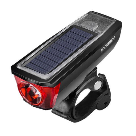 Helios Solar Powered Front Light + 120 db Bell