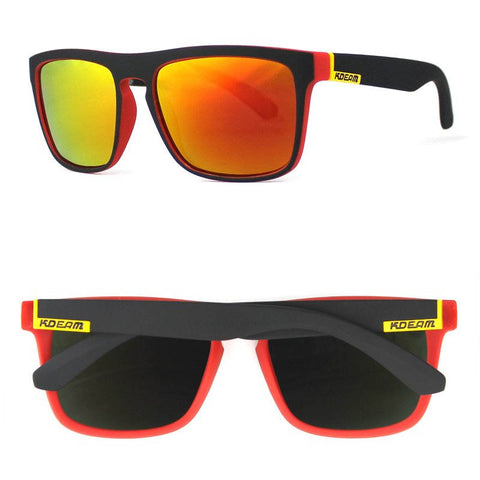 Blazing Hot Polarized Glasses