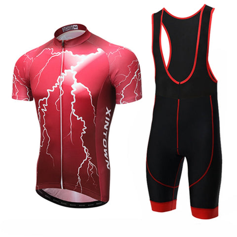 Lightning Storm Short Sleeve Jersey Set