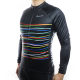 DashStripe Thermal Fleece Jersey