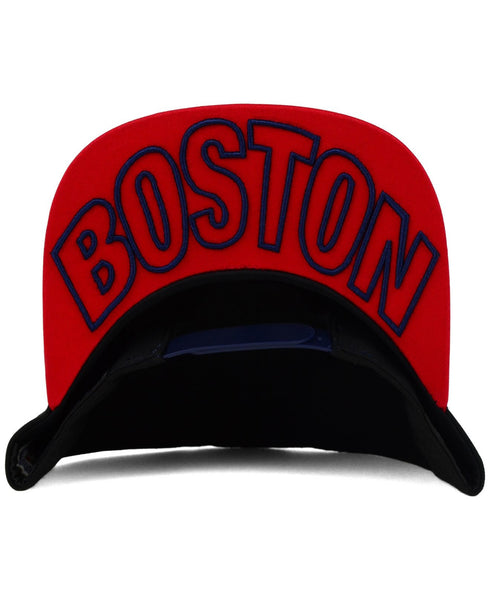 "New Era MLB Boston Red Sox ""Under Snapper"" Snapback Cap - OSFA Adjustable Hat"