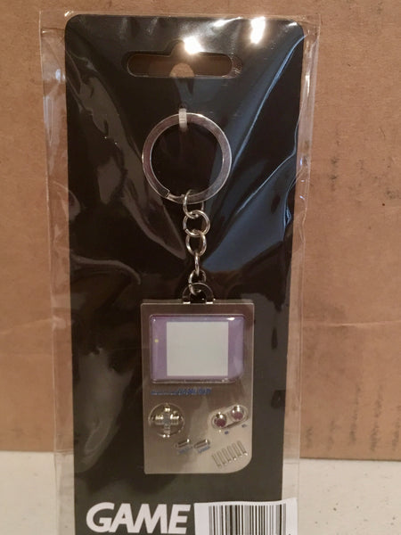 Retro Nintendo GameBoy Keychain (Metal) Officially Licensed