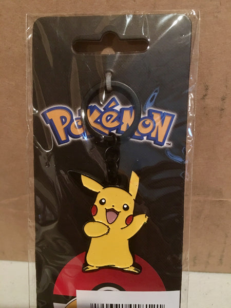 Pokemon Pikachu Metal Keychain - Officially Licensed