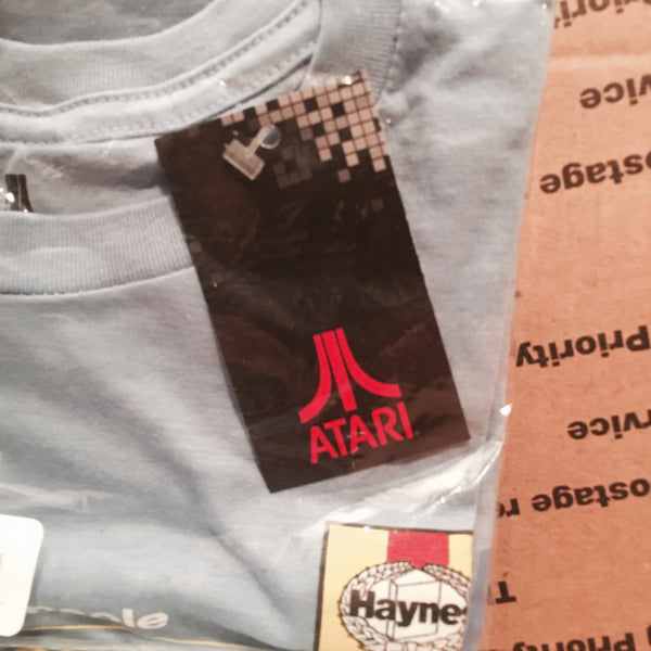 "RETRO Atari ""Haynes Manual"" Graphic T-Shirt (S-XL) Unisex Vintage Gaming Tees"