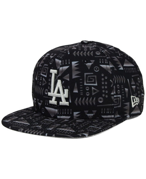 "New Era MLB Los Angeles Dodgers ""Geo-Snap"" Snapback Cap - OSFA Adjustable Hat"