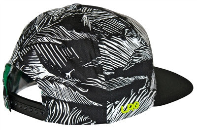 "LRG ""Force of Nature"" Snapback Cap (Black/White) OSFA Adjustable Hat"