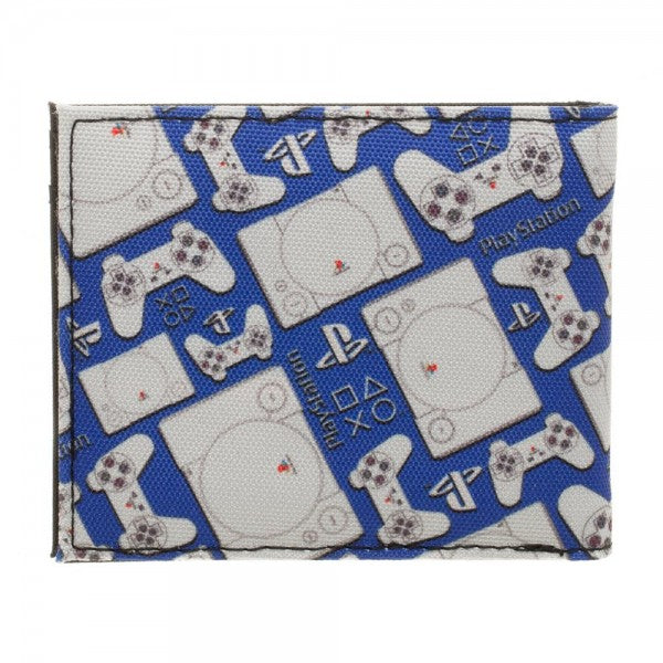 RETRO Sony PlayStation Bi-Fold Wallet - Officially Licensed