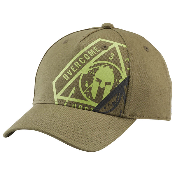 Reebok Spartan Race Snapback Cap (Canopy Green/Lime) Unisex, Factory Sealed