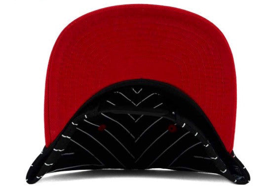 New Era NBA Chicago Bulls RETRO Pinstripe Snapback Cap - Adjustable Hat