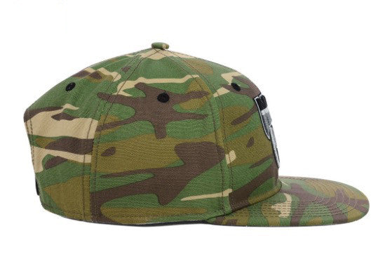 '47 Brand Brooklyn Nets Snapback Cap (Camo/Black) OSFA Adjustable Hat