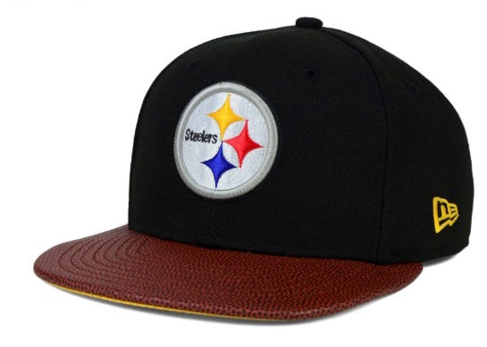 "RETRO New Era NFL Pittsburgh Steelers ""Super Bowl X"" Snapback Cap - OSFA Adjustable Hat"