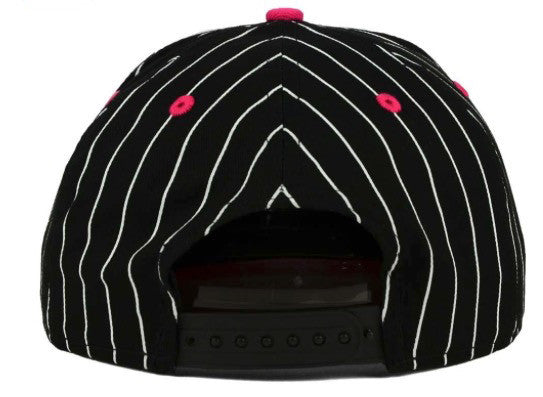 "New Era NBA San Antonio Spurs ""RETRO Pinstripe"" Snapback Cap - Adjustable Hat"
