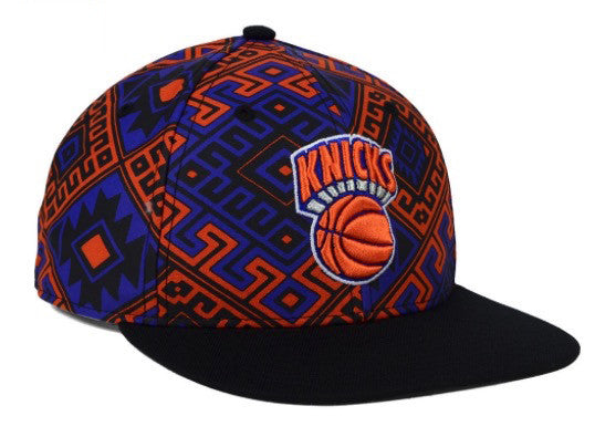 '47 Brand New York Knicks Snapback Cap (Orange) OSFA Adjustable Hat