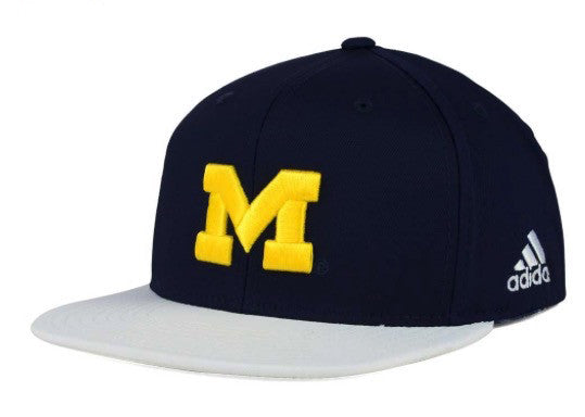 Adidas NCAA Michigan Wolverines Snapback Cap - OSFA Adjustable Hat
