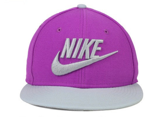 "Nike ""Limitless"" Snapback Cap (Purple/Grey) UNISEX Adjustable Hat"