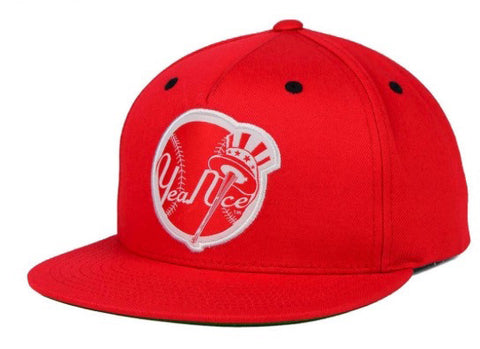 "RETRO Yea.Nice ""Yankee"" Snapback Cap - Adjustable Hat - One Size Fits All"