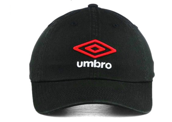 "Umbro ""Player"" Relaxed Fit Adjustable Dad Cap"