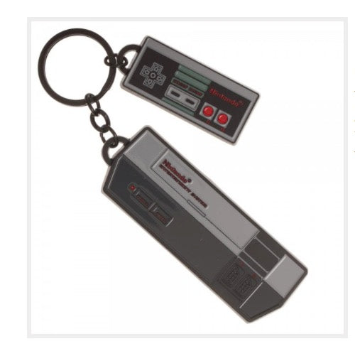 Retro Nintendo NES Console Keychain (Metal) Officially Licensed