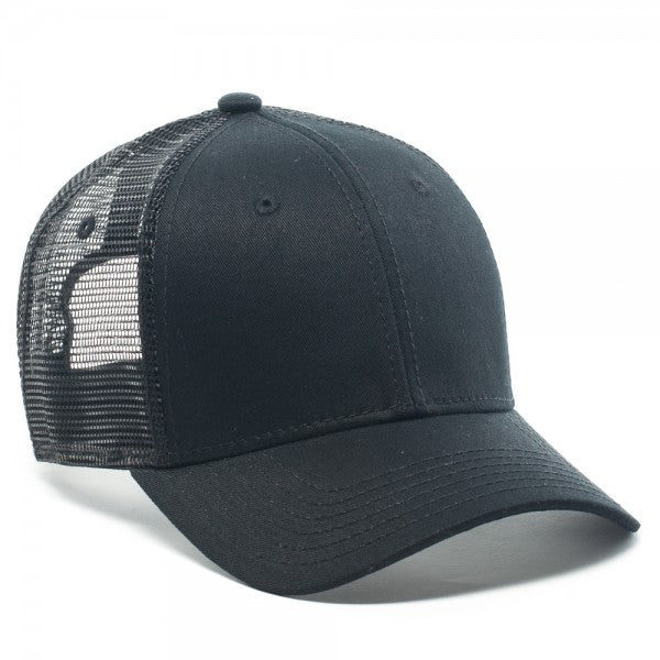 Dickies Meshback Adjustable Cap (Black) OSFM Snapback Hat