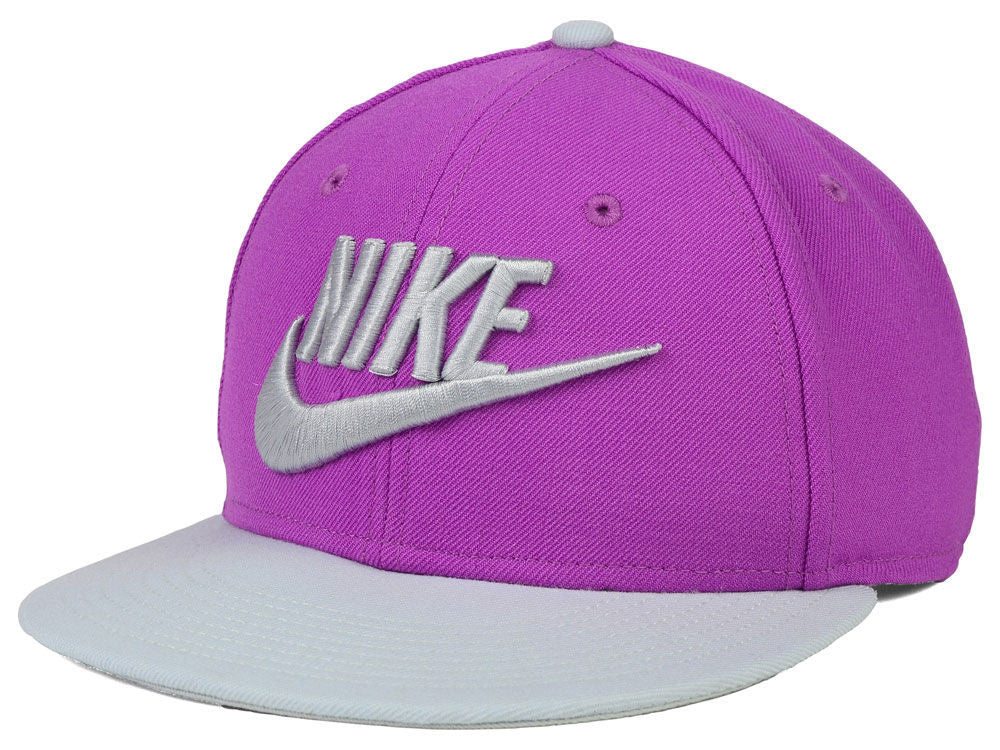 cb2ff82a ... where to buy nike limitless snapback cap purple grey unisex adjustable  hat 71b7f cf6e9