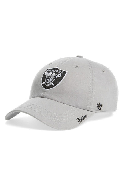 Oakland Raiders NFL Women's Adjustable  Dad Cap - OSFA Hat